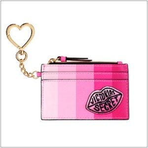 VS ~ STRIPE LOGO LIPS CARD CASE